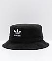 adidas Originals Black French Terry Bucket Hat