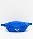 adidas Originals Blue & White Fanny Pack