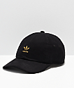adidas Originals Relaxed Metal Black & Gold Strapback Hat
