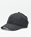 adidas Originals Relaxed Plus Black & Black Strapback Hat