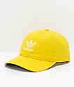 adidas Originals Relaxed gorra amarilla