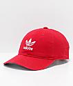 adidas Originals Relaxed gorra roja