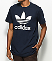 adidas Originals Trefoil Legend Ink camiseta en azul marino