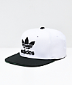adidas Originals White & Black Snapback Hat