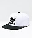 adidas Originals gorra blanca y negra
