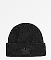 adidas Reflective Trefoil Plus Black Beanie