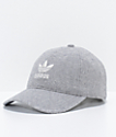 adidas Relaxed Grey Wool Dad Hat