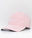 adidas Relaxed Plus gorra strapback en rosa para mujeres