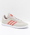 adidas Samba ADV zapatos en gris, rosa y blanco