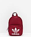 adidas Santiago Collegiate mini mochila borgoña