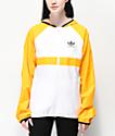 adidas Skate Orange & White Windbreaker Jacket