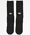 adidas Statement Black Crew Socks