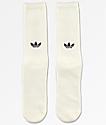 adidas Statement White Crew Socks