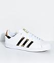 adidas Superstar Vulc White & Camo Shoes