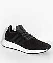 adidas Swift Run zapatos en negro y blanco
