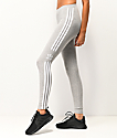 adidas Trefoil 3-Stripe Grey Leggings