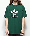 adidas Trefoil Green T-Shirt
