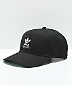 adidas Trefoil Patch Black & White Snapback Hat
