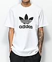 adidas Trefoil White & Black T-Shirt