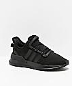 adidas U Path Run Black & Black Shoes