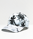 adidas Women's Relaxed Black & White Tie Dye Strapback Hat