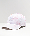 adidas Women's Relaxed Pink & White Tie Dye Strapback Hat