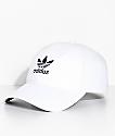 adidas Women's White Strapback Hat