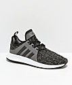 adidas Xplorer Black, Grey & White Shoes