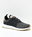 adidas Xplorer Core Black, White & Gum Shoes