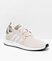 adidas Xplorer Light Brown, Green & White Shoes