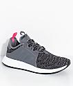 adidas Youth Xplorer Grey & White Shoes