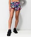 adidas shorts de chándal de tres rayas de multicolor