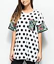 adidas x FARM 3 Stripe Tropical Polka Dot T-Shirt