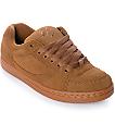 eS Accel OG zapatos de skate en marrón y goma