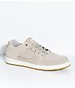 eS Accel Slim Tan & White Suede Skate Shoes