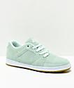 eS Accel Slim zapatos de skate de ante azul claro