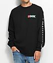 eS X DGK camiseta negra de manga larga
