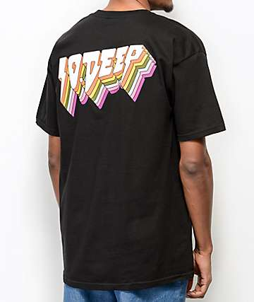10 Deep All The Lights Black T-Shirt