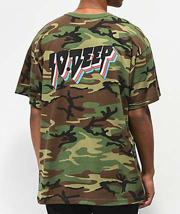 10 Deep All The Lights Camo T-shirt