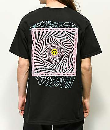 10 Deep Blurred Vision Black T-Shirt