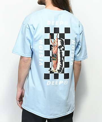 10 Deep Chief Rocker camiseta azul