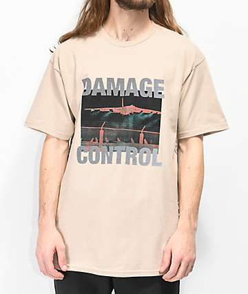 10 Deep Damage Control Tan T-Shirt