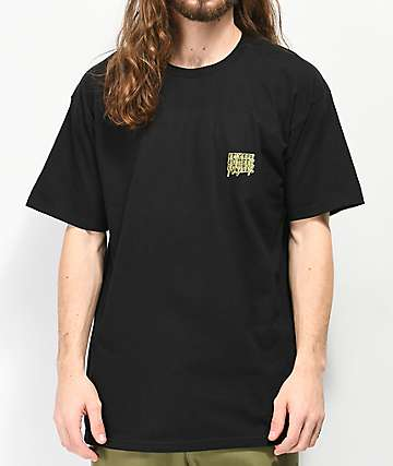 10 Deep Digital Divide Black T-Shirt