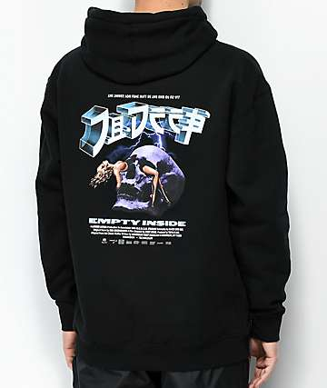 10 Deep End Games Black Hoodie