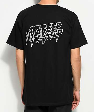 10 Deep Fade To Black Black T-Shirt