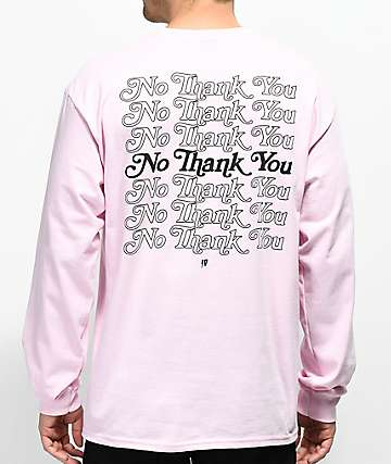 10 Deep Many Returns Pink Long Sleeve T-Shirt