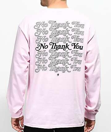 10 Deep Many Returns camiseta rosa de manga larga