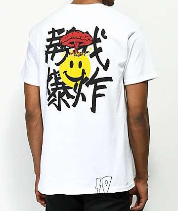 10 Deep Mind Blowed camiseta blanca
