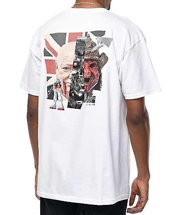 10 Deep New Forms camiseta blanca