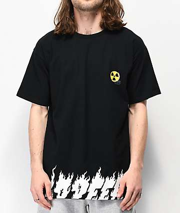10 Deep Radiated Black T-Shirt